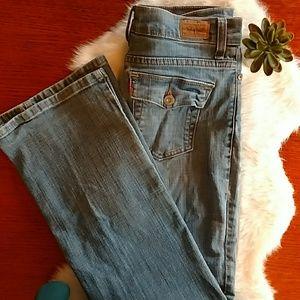 Levis 512 jeans. Great shape. Size 6 short.